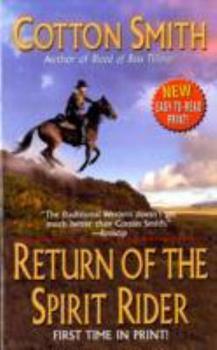 Paperback Return of the Spirit Rider Book