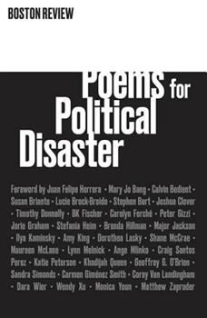 Poems for Political Disaster 1946511013 Book Cover