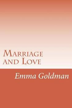 Marriage And Love 1492392375 Book Cover