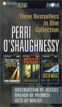 Perri O'Shaughnessy: Obstruction of Justice, Breach of Promise, and Acts of Malice 1590862252 Book Cover