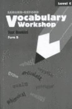 Paperback Vocabulary Workshop Test Booklets, Level C, Form B Book