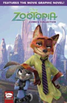 Paperback Disney Zootopia Comics Collection Book