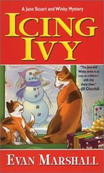 Icing Ivy (Jane Stuart and Winky Mysteries) 0758202253 Book Cover