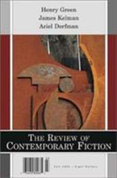 The Review of Contemporary Fiction 1564782638 Book Cover