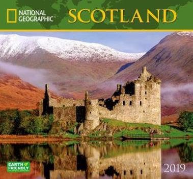Calendar National Geographic Scotland 2019 Calendar Book