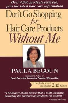 Paperback Don't Go Shopping for Hair Care Products Without Me Book