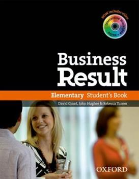 Business Result: Elementary: Student's Book with DVD-ROM and Online Workbook Pack 0194739376 Book Cover