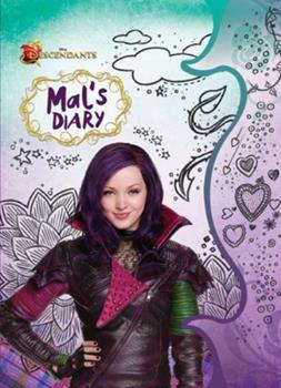 Hardcover Descendants: Mal's Diary Book