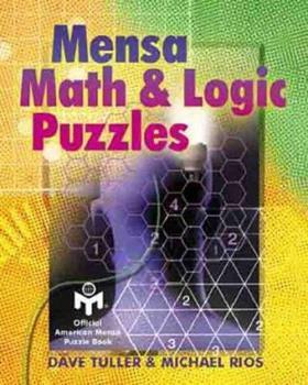 MENSA Math & Logic Puzzles 0806941995 Book Cover