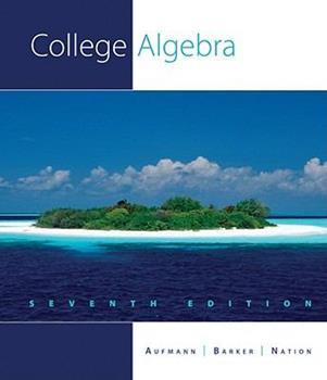 College Algebra 0395786444 Book Cover