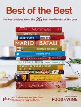 Best of the Best Vol. 9: The Best Recipes from the 25 Best Cookbooks of the Year (Best of the Best: Best Recipes from the 25 Best Cookbooks of the Year) 1932624147 Book Cover