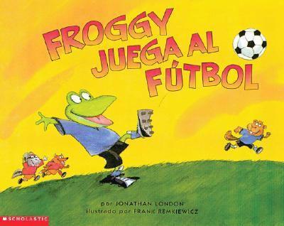 Paperback Froggy juega al futbol Book