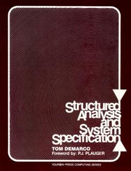 Paperback Structured Analysis and System Specification Book