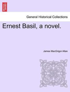 Paperback Ernest Basil, a Novel Book