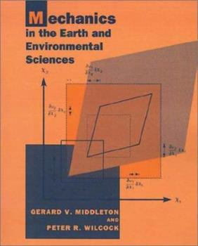 Paperback Mechanics in the Earth and Environmental Sciences Book