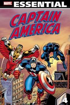Essential Captain America Vol. 4 - Book  of the Essential Marvel