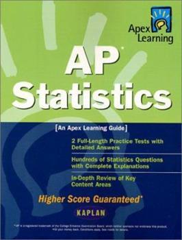 Paperback Apex AP Statistics (Apex Learning) Book
