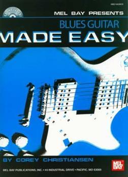 Paperback Mel Bay Blues Guitar Made Easy Book