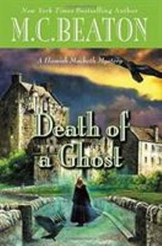 Hardcover Death of a Ghost Book