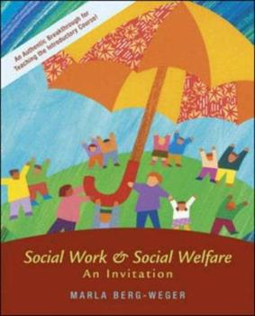 Social Work and Social Welfare: An Invitation (New Directions in Social Work (Boston, Mass.), 2.) 0072845945 Book Cover