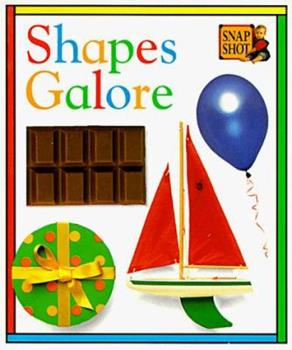 Tab Board Books: Shapes Galore 0789402319 Book Cover