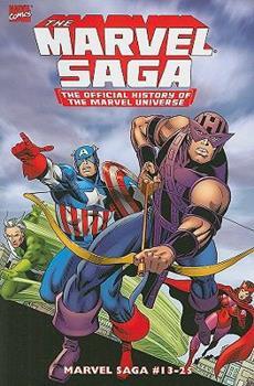 Essential Marvel Saga Volume 2 TPB (Essential) - Book  of the Essential Marvel