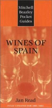 Mitchell Beazley Pocket Guide: Wines of Spain: FUlly Updated for 2001/2002 (Mitchell Beazley Pocket Guide,) 1840003898 Book Cover