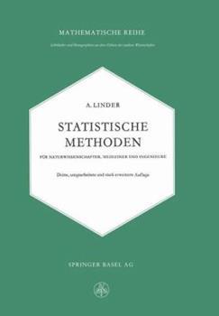 Paperback Statistische Methoden F?r Naturwissenschafter, Mediziner Und Ingenieure [German] Book