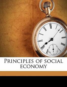 Paperback Principles of Social Economy Book