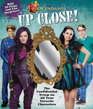 Hardcover Disney Descendants: Up Close! Book