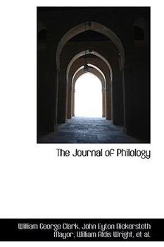Paperback The Journal of Philology Book