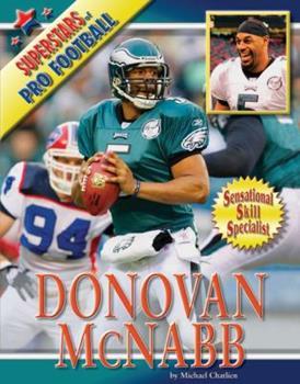 Donovan McNabb - Book  of the Superstars of Professional Football