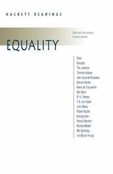 Equality (Hackett Publishing Co.) 0872204804 Book Cover