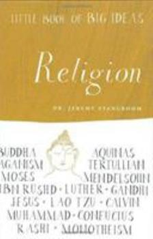 Hardcover Little Book of Big Ideas: Religion (Little Book of Big Ideas series) Book