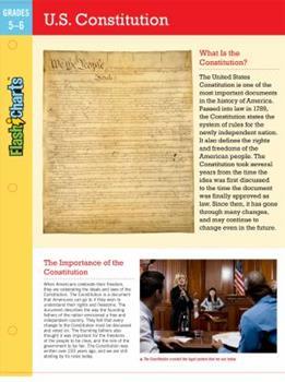 Flexibound U.S. Constitution Flashcharts Book