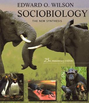 Sociobiology: The New Synthesis 0674816242 Book Cover