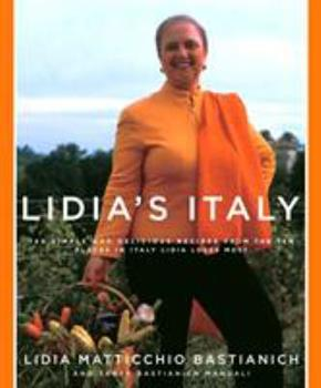 Lidia's Italy 1400040361 Book Cover