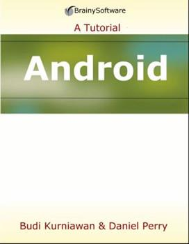 Paperback Android Application Development: A Beginner's Tutorial Book