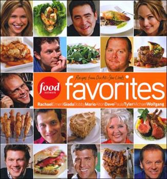Paperback Food Network Favorites : Recipes from Our All-Star Chefs Book