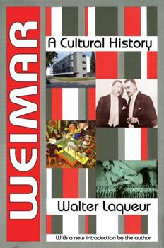 Weimar: A Cultural History 1412818435 Book Cover
