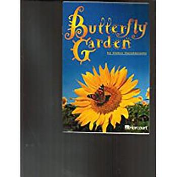 Paperback Harcourt School Publishers Trophies: Advanced-Level Grade 3 Butterfly Garden Book