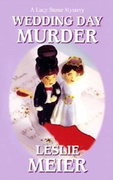 Paperback Wedding Day Murder [Large Print] Book