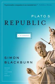 Plato's Republic: A Biography 1553652657 Book Cover