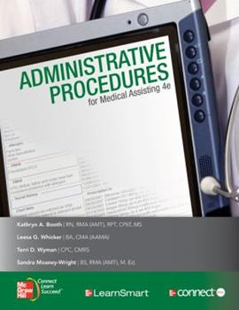 Medical Assisting: Administrative Procedures with Student CD 0077399986 Book Cover