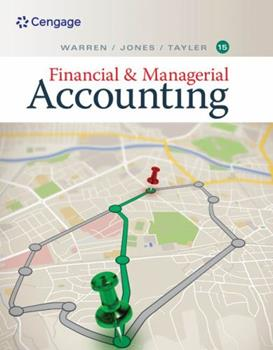 Financial & Managerial Accounting 0538853093 Book Cover