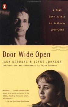 Door Wide Open: A Beat Love Affair in Letters 1957-1958 0670890405 Book Cover