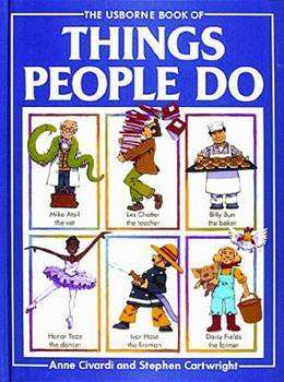 Hardcover Things People Do Book