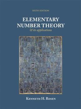 Elementary Number Theory and Its Applications 0201119587 Book Cover