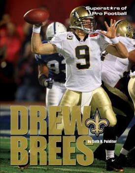 Drew Brees - Book  of the Superstars of Professional Football