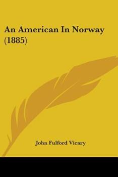 Paperback An American in Norway Book